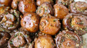 Recipe Sautéed GARLIC MUSHROOMS