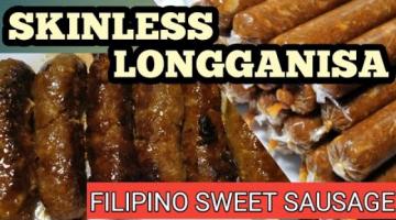 Recipe SKINLESS LONGGANISA (FILIPINO SWEET SAUSAGE)