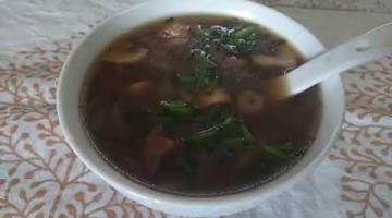 Recipe Soya Mushroom Soup