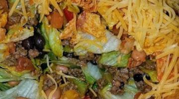 Recipe Taco Salad with Doritos