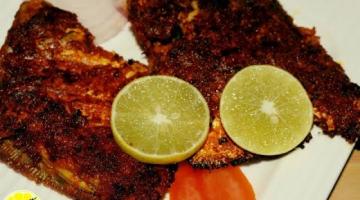 Recipe Tawa Fry Tandoori Pomfret   Pomfret Tawa Fry  Fish Recipe