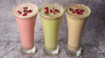 Recipe Thandai Recipe in 3 Flavours | Classic Thandai | Paan Thandai | Rose Thandai | Summer Drinks | Yummy