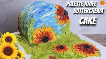 Recipe TRENDING CAKE TUTORIAL | SIDE DOWN BUTTERCREAM PAINTED CAKE