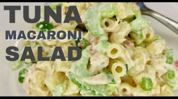 Recipe TUNA MACARONI SALAD | Old-Fashioned STYLE | Easy DIY for Beginners