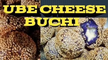 Recipe UBE CHEESE BUCHI
