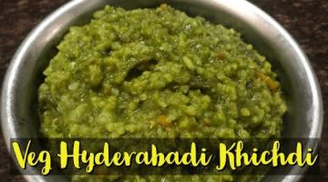 Recipe Veg Hyderabadi Khichdi | Mix Veg Spinach Khichdi
