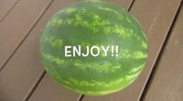 Recipe WATERMELON - How to slice WATERMELON the right way