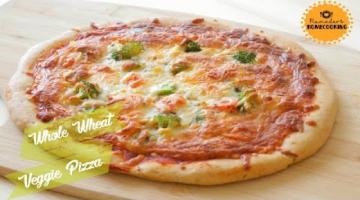 Recipe Whole Wheat Pizza - Aatta Pizza | Homemade Vegetable Pizza