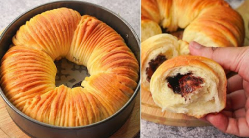 Recipe Wool Roll Bread With Chocolate Filling   Yummy